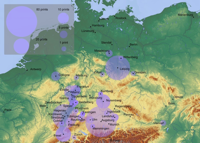 All translations of classical texts into German from 1471-1551