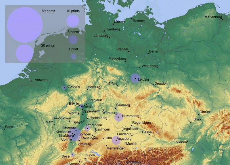 All translations of classical texts into German from 1501-1510